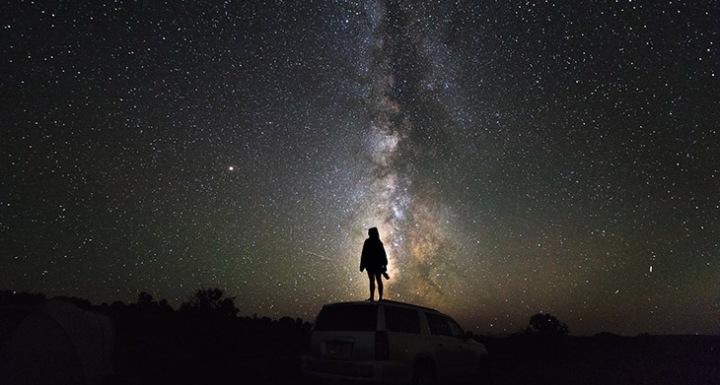 الكون, فضاء, كارل سيجن