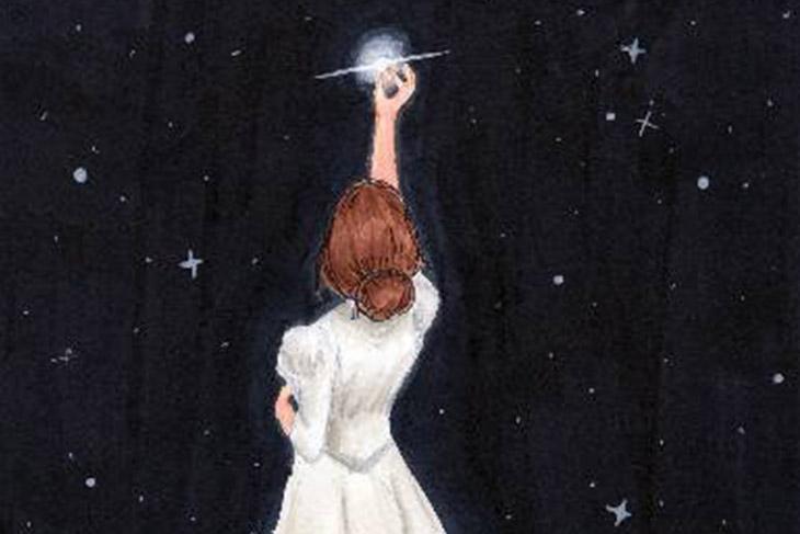 الكون, فضاء, لارا, النجوم, السماء