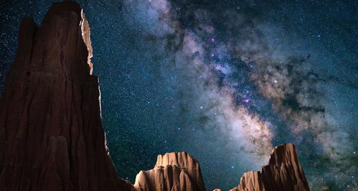 السماء الليلة, سماء, مشروع, ترجمة